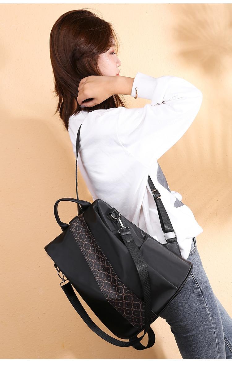 Fashion Women Backpack Rucksack backpacks for women,backpack bags,backpack oxford outdoor Black 32cm*32cm*15cm 43
