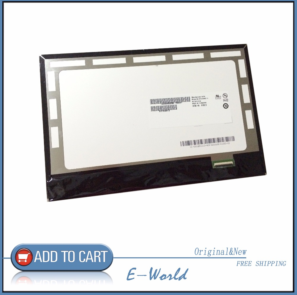 For MeMO Pad 10 ME102 ME102A New LCD Display Panel Screen Monitor Repair Replacement Part B101EAN01.1 B101EAN01.6 m195fge l20 lcd panel display monitor for old machine repair have in stock