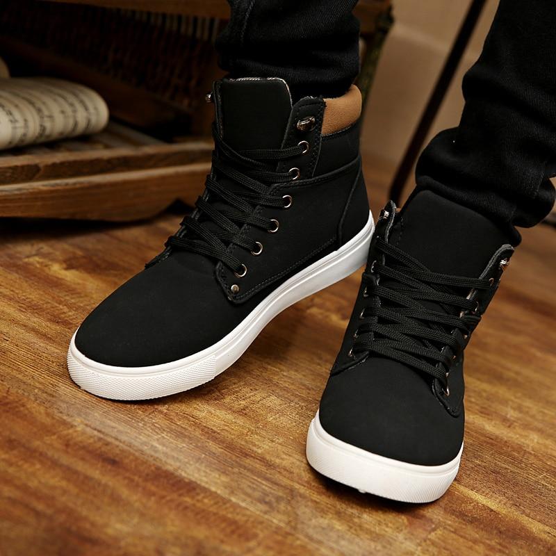 zapatillas vans botitas hombre