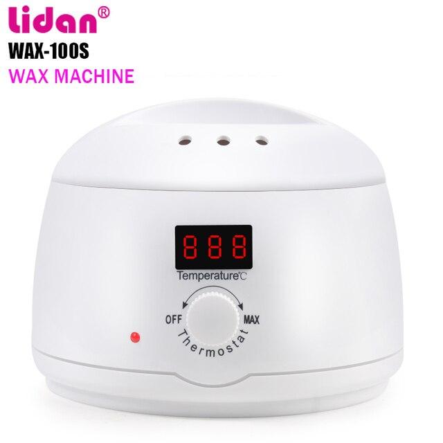 LIDAN Beauty Hair Removal Wax Machine Wax Bean Heater 500C Barnacle 100W High Power LED Display Followers +3% discount