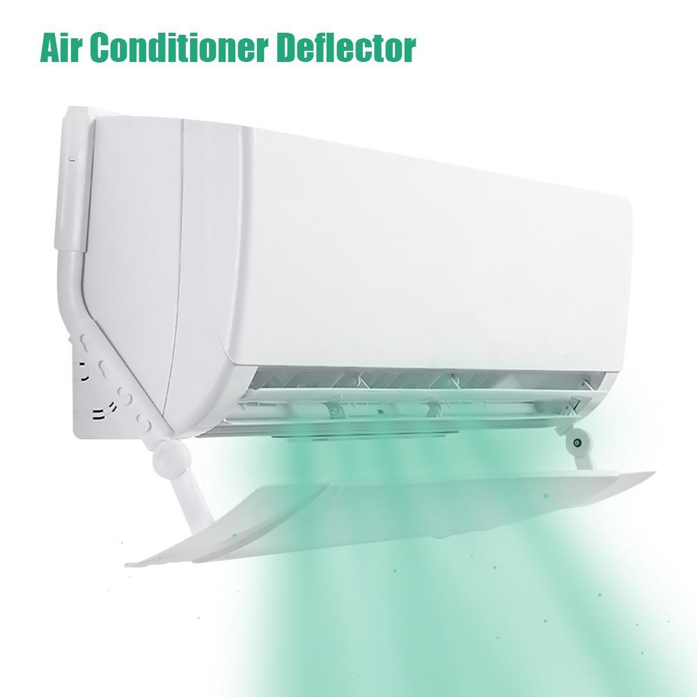 Anti Sopro Direto Retrátil Escudo Do Condicionador de Ar Condicionador de Ar Frio Vento Defletor Defletor Tampa Da Guia Para Casa Accessori