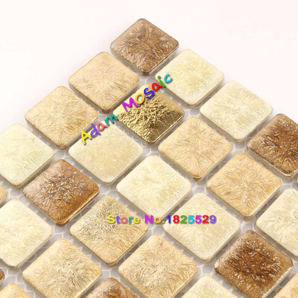 Coffee Colour Tiles Subway Square Sheets Shower Wall Tile Backsplash ...
