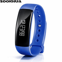 SOONHUA M88 Smart Bracelet Band Call Remind Remote Self Timer Fitness Tracker Calorie Sleep Blood Pressure