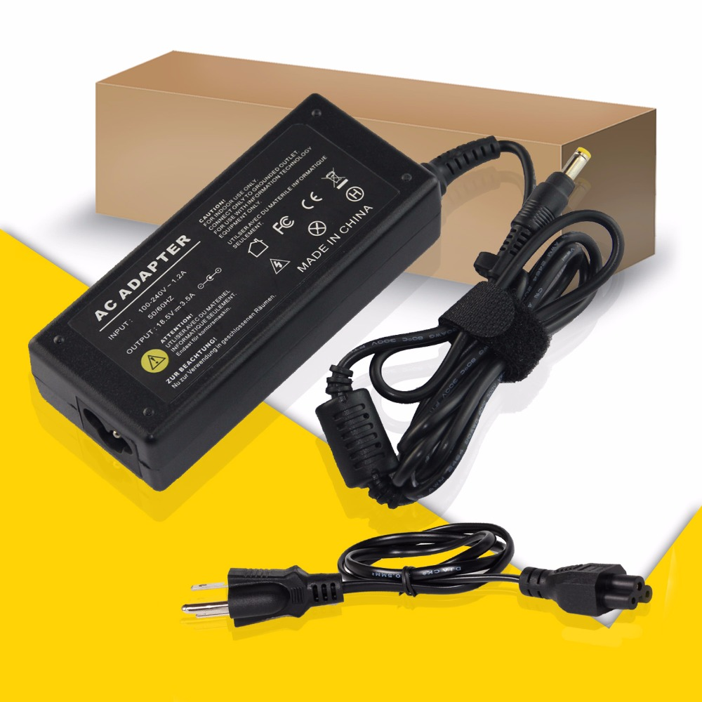 US Plug 18.5V 3.5A 65W AC Power Supply Adapter Tips 4.8*1.7mm Laptop  Adapter for HP DV1000 DV1300 DV1400 DV1500 DV2000