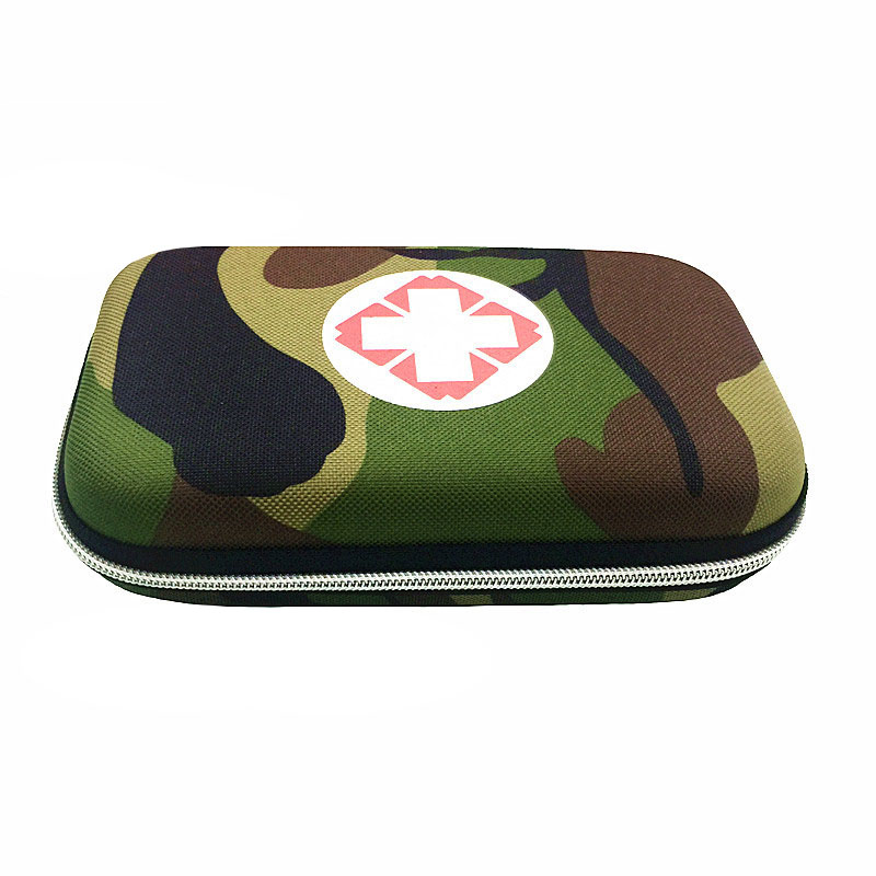 Empty Military, Camouflage First Aid Box Portable Emergency Bag Medicine Box Vehicle Mounted Medical Package Travel Package