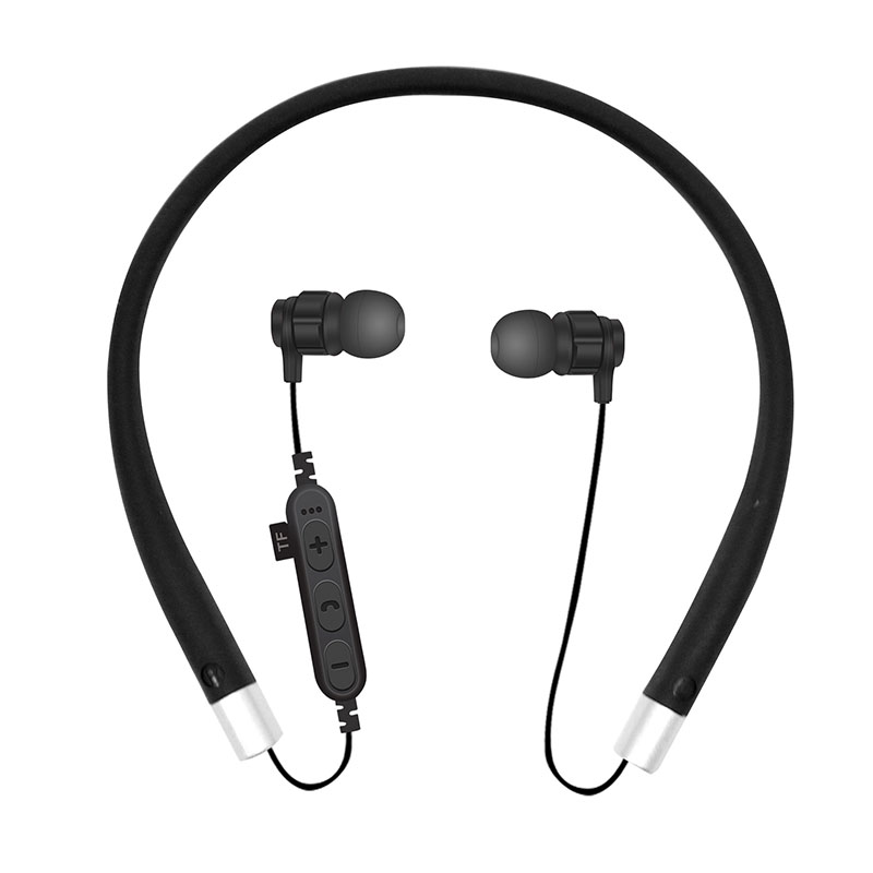 Bluetooth Earphones Headset Sport Wireless Bluetooth Earbuds With Microphone TF Memory Card Slot for Alcatel OneTouch Idol X 604