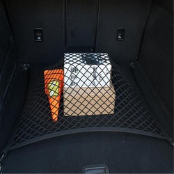 Malla de malla para maletero de coche con 4 ganchos para equipaje de coche para Mercedes Benz W203 W210 W211 W204 A C E S CLS CLK CLA GLK ML SLK Smart cualquier coche