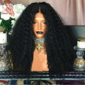 Brazilian Human Hair Kinky Curly Wig 13*6 Deep Part Speace Lace Front Wigs With Baby Hair Kinky Curly Human Hair Lace Front Wigs