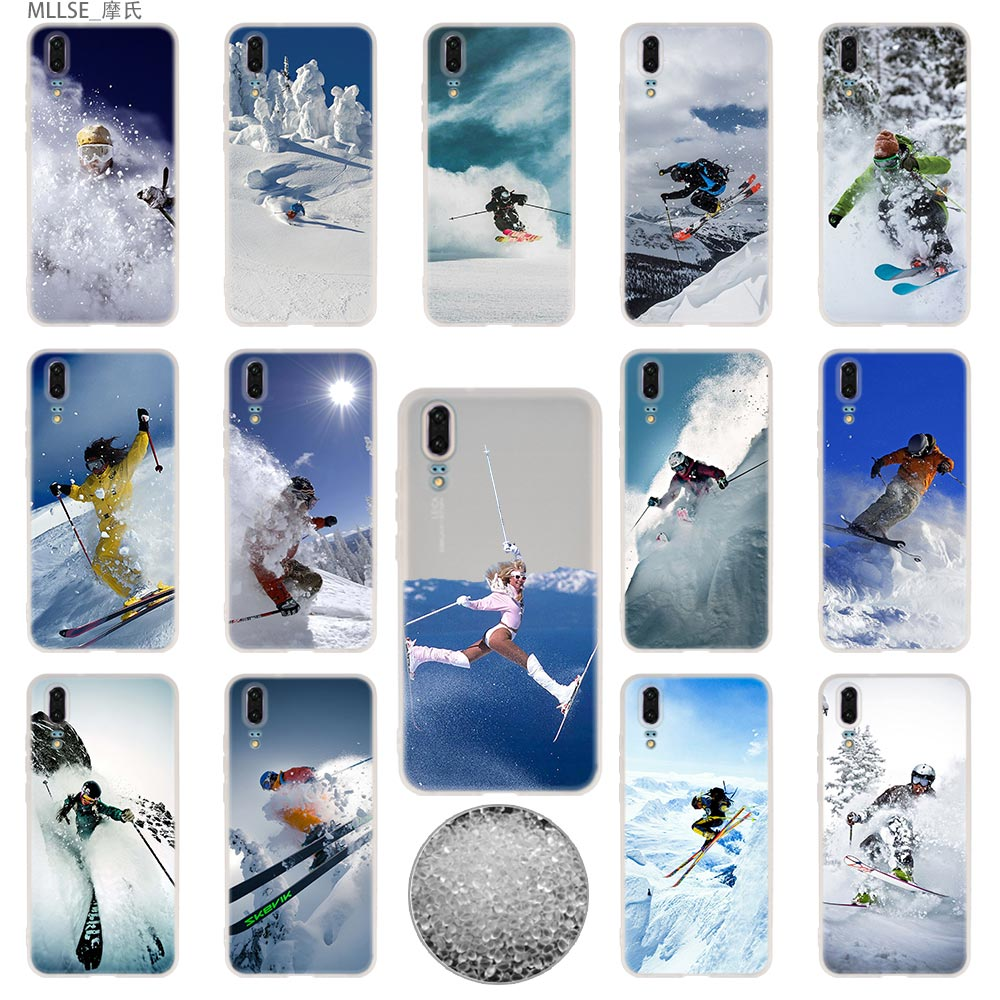 Redelijk Alpine Skiën Tpu Cover Telefoon Gevallen Zachte Voor Huawei P 20 Pro P10 Plus P9 P8 Lite 2017 P30 Pro Samrt 2019 Nova 3e