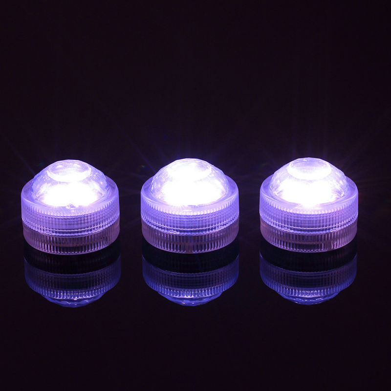 10pcs Wedding Supplies Floralytes Decoration Light Waterproof Submersible LED Lights Mini LED Lights Home Xmas Party Decor Light