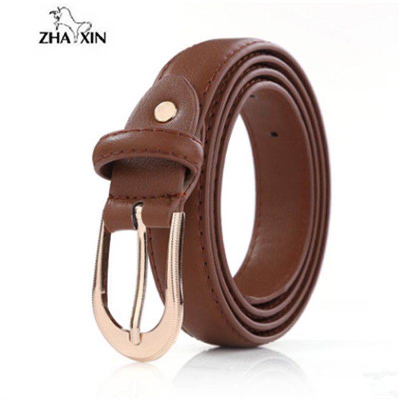 Top Quality Metal Buckle Casual Belt For Women Leather Belt Female Straps Waistband For Apparel Accessories