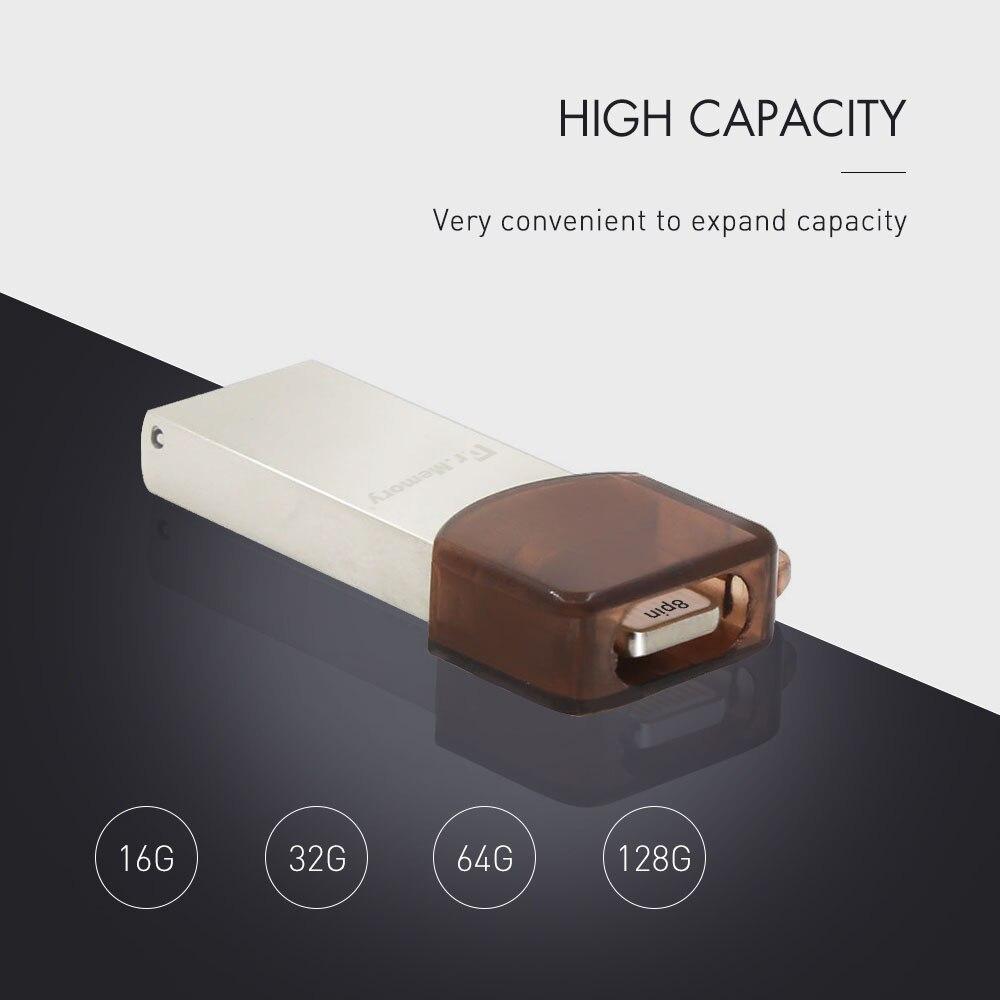 Dr Memory OTG USB flash drive 64GB MFI Pen drive For iphone 7 7Plus 6 6S