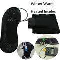 Promocional USB sapatos para tamanho 38 - 46 palmilha aquecida aquecimento elétrico sem bateria