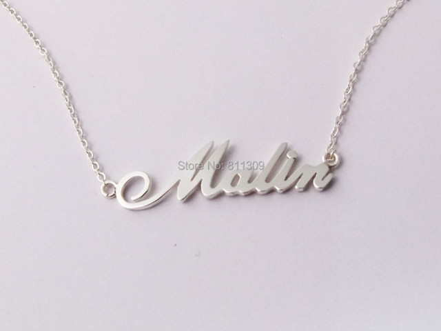 Custom name necklace personalized necklace 925 silver jewelry custom name necklace personalized necklace 925 silver jewelry customized necklace aloadofball Image collections
