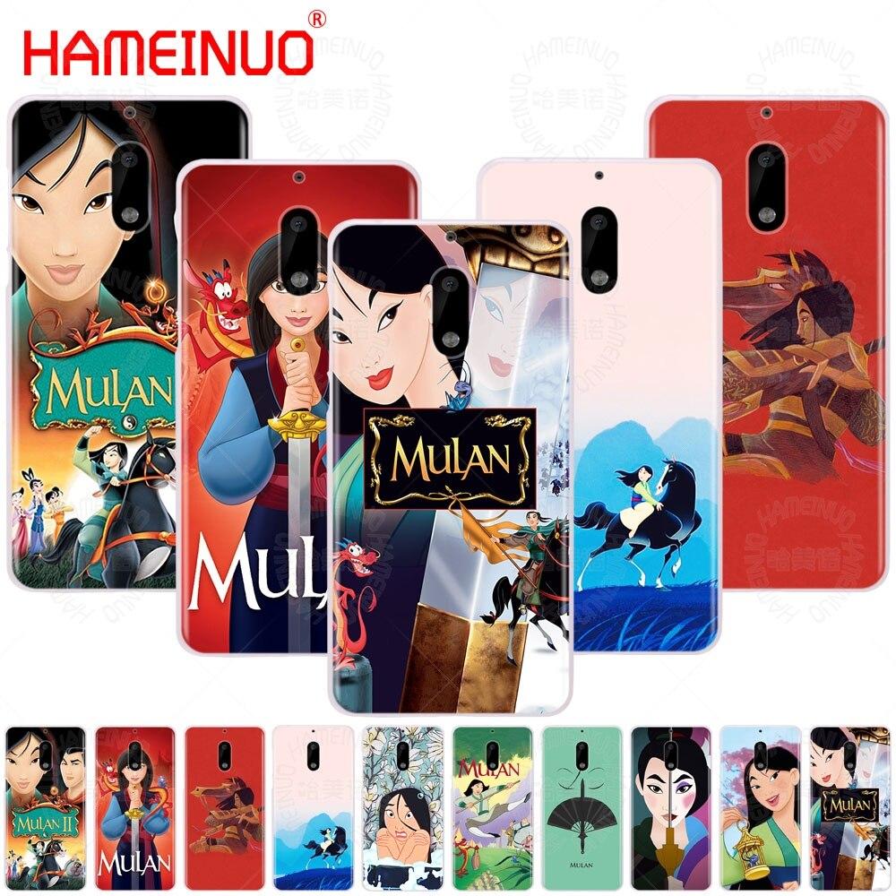 HAMEINUO Cartoon Mulan cover phone case for Nokia 9 8 7 6 5 3 Lumia 630 640 640XL 2018