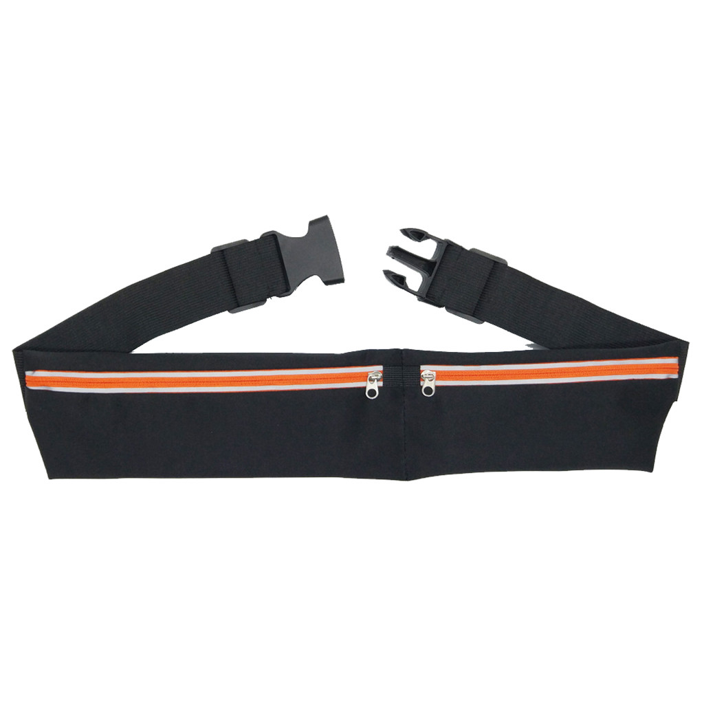 Dual Pocket Running Belt Phone Pouch Waist Bag Sports Travel Fanny Pack Outdoor 2019 New Storage exercise Bag XYT0FA