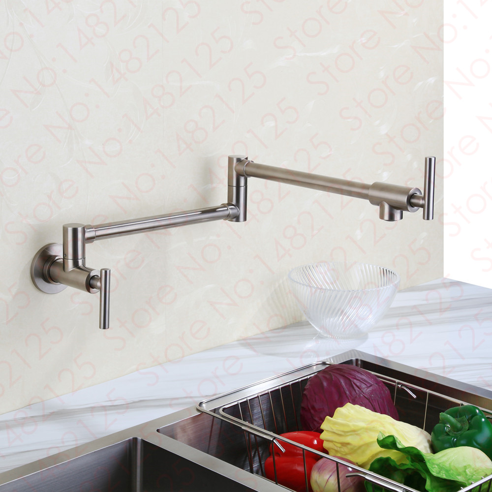 Wall Mount Pot Filler Kitchen Faucet 2016 Wholesale High Quality ...