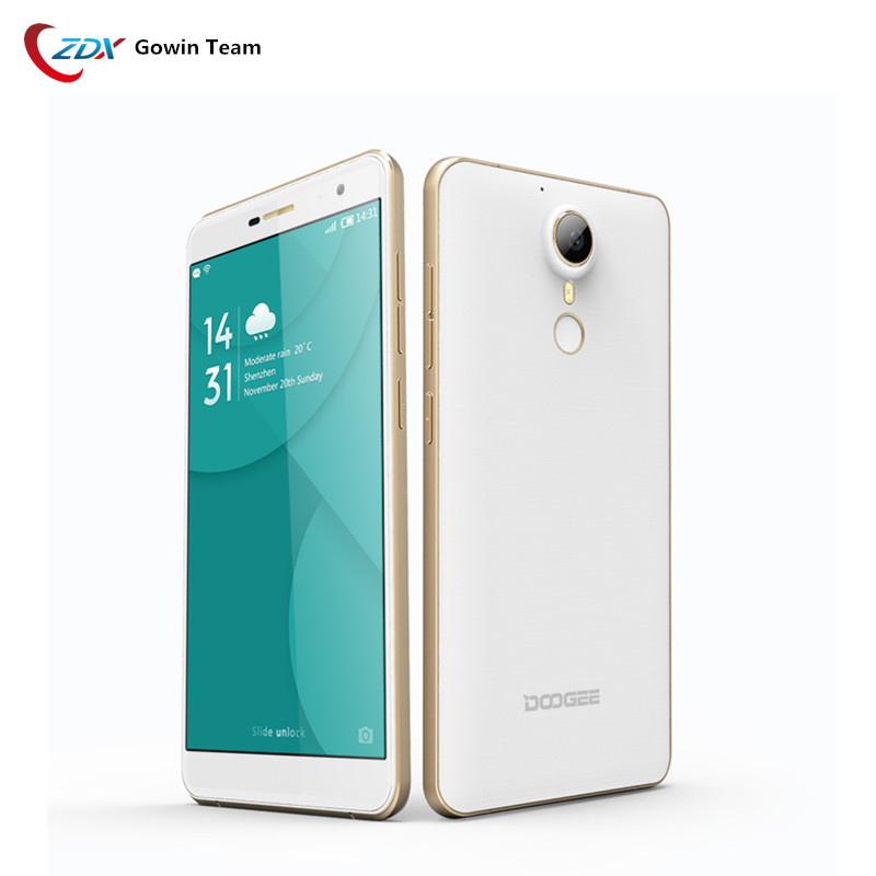 Doogee F7 Pro MT6797 4GB+32GB Mobile Phone Android 6.0 4G LTE Helio X20 21MP PDAF Cam OTG Fingeprint ID Smartphone
