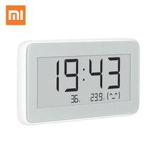 100% Xiaomi Mijia BT4.0 Draadloze Smart Elektrische Digitale Klok Indoor Hygrometer Thermometer E Ink Temperatuur Meetinstrumenten