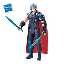 Hasbro Marvel Thor Ragnarok Electronic Thor PVC Action Figure Collectible Model Boys Toy With Sound Effects Christmas Gifts(China)