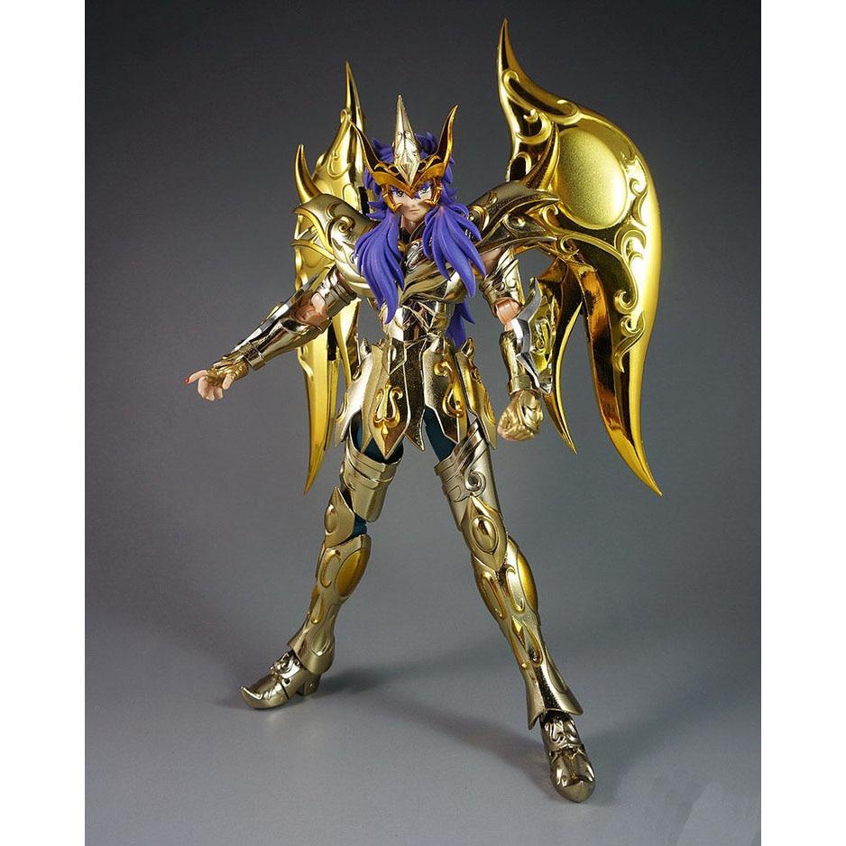 CMT Great Toys GT Ex Scorpio Milo Soul of Gold Gud Saint Seiya Metal - Toy figuriner - Foto 3