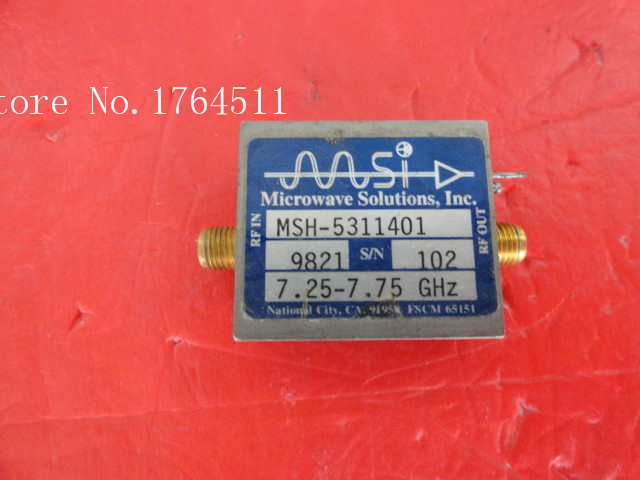 [BELLA] MSI MSH-5311401 7.25-7.75GHz SMA Supply Amplifier