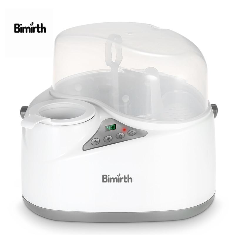 4 in 1 Multifunction Bottle Warmer Baby Milk Heating Milk Bottle Sterilizer Thermostat Disinfection Food Steam Heating Electric