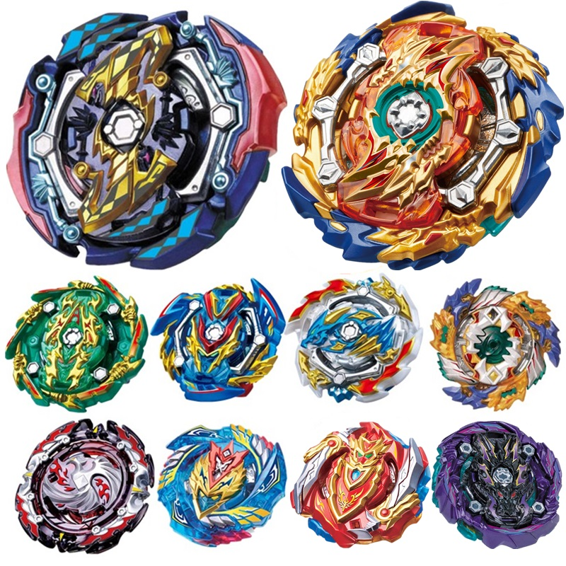 Latest hot sale <font><b>Beyblade</b></font> Burst <font><b>B</b></font>-131 <font><b>B</b></font>-133 <font><b>B</b></font>-134 <font><b>B</b></font>-<font><b>135</b></font> Toupie Bayblade bursts Metal Fusion God Spinning Top Bey Blade Blades Toy image