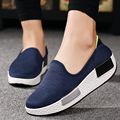 Height Increasing 2016 Women Shoes Spring/Autumn Women's Casual Platforms Shoes Fashion Elevator Shoes For Women Swing Wedges