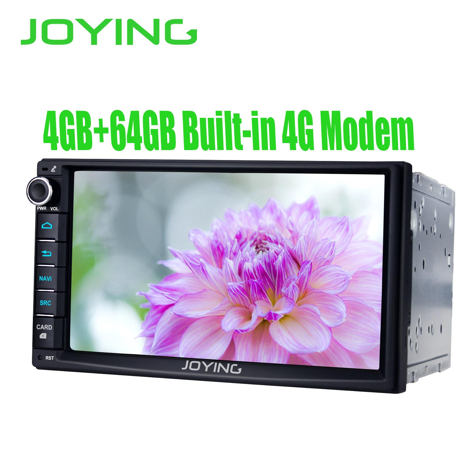 7Double 2 Din Head Unit Android 8.1 Universal Car Radio Stereo Multimedia No DVD Music Player Built in DSP Carplay Android Auto