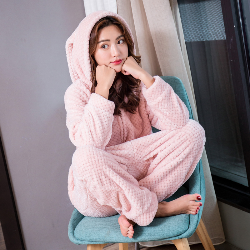 yomrzl A572 new arrival spring and autumn womens onesies lovely one piece long sleeve sleepwear cute pink home clothes