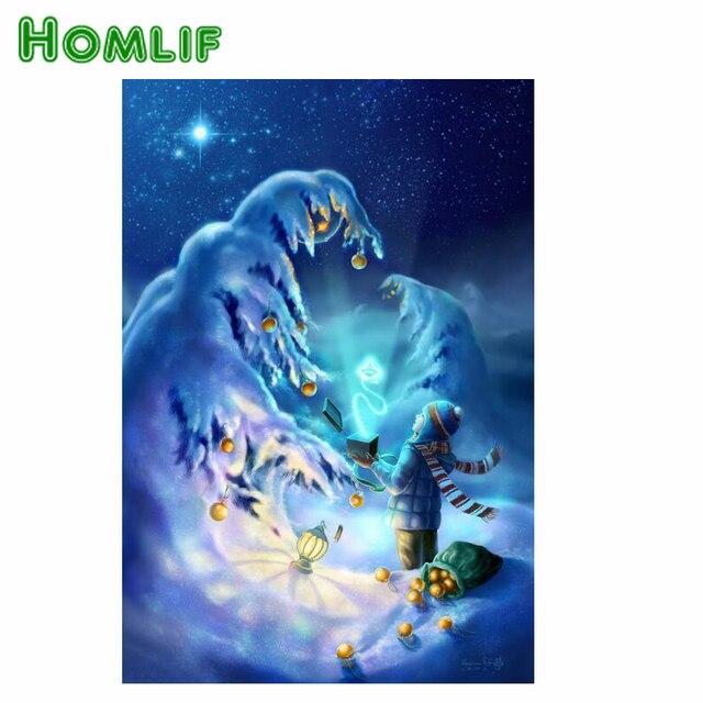 Homlf chico diamante bordado pintura artesanía de plástico DIY ...