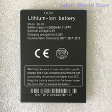 100% Original THL T9 Pro Battery 3000mAh BL-09 for plus Smartphone Replacement Mobile Phones