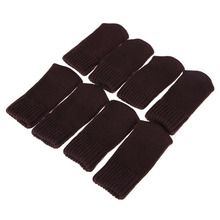 8PCS Stylish Knitting Wool Chair Table Leg Cover Coffee Floor Protector PTSP(China)