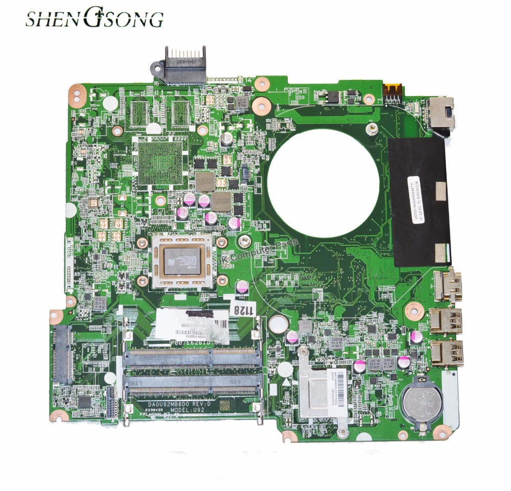 все цены на Free Shipping For HP 15-N Laptop motherboard 738124-001 738124-501 motherboard DA0U92MB6D0 A10-5745M 100% Tested