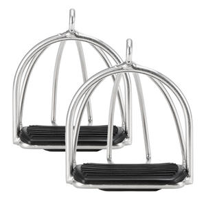 Products Stirrups Horse-Saddle-Pedal Equestrian-Safety-Equipment Horse-Riding 2pcs Cage
