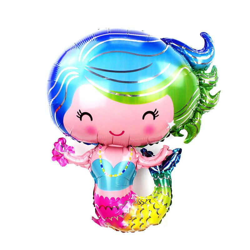 A Pequena Sereia Ariel De Princesa Dos Desenhos Animados Balao De