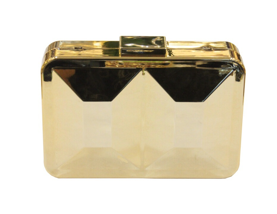 Famous Brand Women Concave Convex Metal Evening Bag Ladies Gold Hard Case  Clutch Bag Fashion Minaudiere Handbag Clutches Purse-in Clutches from  Luggage ... f0830507c