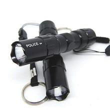 Vioslite Special Mini Home Outdoor Portable Super Light LED Energy Saving Battery Flashlight Waterproof Flashlight