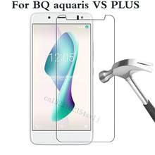 Verre trempé pour BQ aquaris VS V PLUS U2 LITE M 2017 X PRO U PLIS LITE X5 PLUS Film de protection protecteur d'écran(China)