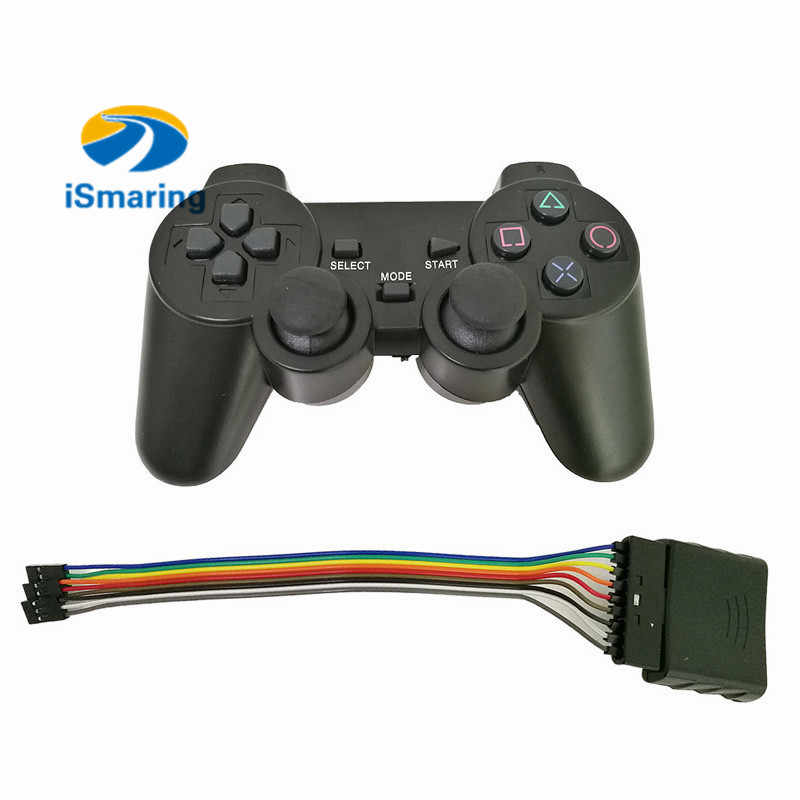 1set 2.4G Wireless Game Gamepad Joystick For PS2 Controller With Wireless Receiver Playstation 2 Console Dualshock Gaming Joypad