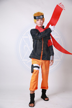 Naruto Red Scarf Anime Cosplay Accessory
