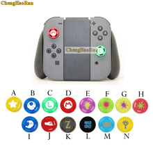 лучшая цена 14 color 1pcs Silicone Analog  Stick Grips Caps for Nintend Switch NS JoyCon Controller Sticks Cap Skin for Joy Con Cover