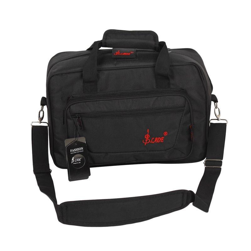 SLADE Oboe Clarinet Soft Carrying Case Gig Bag Padding With Shoulder Strap