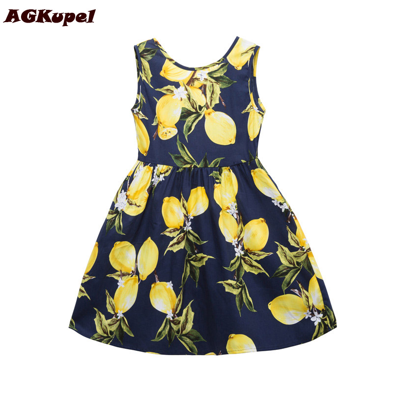 AGKupel Girls Summer Dress Toddler Girls Clothing Children Infant Party Dress Girl Cotton Kids Vest Dresses Children Clothes джефри лайф план жизни