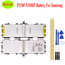 6800mAh T4500E Tablet Battery For Samsung GALAXY Tab 3 10.1 P5210 P5200 P5220 GT P5200 Batteria High Quality Replace Parts+Tools