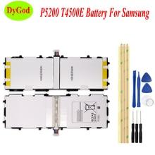 6800mAh T4500E Tablet סוללה עבור Samsung GALAXY Tab 3 10.1 P5210 P5200 P5220 GT P5200 Batteria באיכות גבוהה להחליף חלקים + כלים