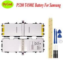 6800mAh T4500E Tablet pil için Samsung GALAXY Tab 3 10.1 P5210 P5200 P5220 GT P5200 Batteria yüksek kaliteli parçaları değiştirin + araçları