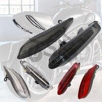 Светодиодный задний фонарь мотоцикла для Ducati Diavel Carbon 2011 2015 Panigale тормоза встроенные Сигналы поворота