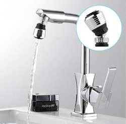 360 Поворот Поворотный кран сопла фильтр адаптер водосберегающий кран аэратор диффузор Высокое качество кухня интимные аксессуары